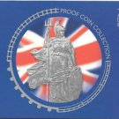 2004 Great Britain 10 Coin 4 Page C.O.A. Document Set~Free Shipping