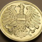 Proof Austria 1983 2 Groschen~Only 65,000 Minted~Imperial Eagle~Free Shipping
