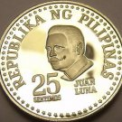 Rare Proof Philippines 1979 25 Sentimos~Only 3,645 Minted~Bank Seal~Free Ship