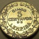 Gem Unc Honduras 1956 5 Centavos~LEMPIRA~Free Shipping