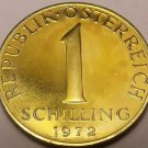 Rare Proof Austria 1987 Schilling~42,000 Minted~Edelweiss Flower~Free Shipping
