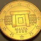 Gem Unc Malta 2008 5 Euro Cents~Doorway~Excellent~Free Shipping