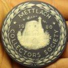 Massive 63mm Ceramic~Mettlach Villeroy & Boch Germany Collectors Medallion~Fr/Sh