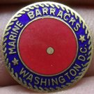 Lot of 5 Marine Corps Barracks Washington D.C. Enameled Brass Medallions~Free Sh