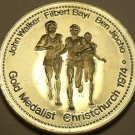 Large Gem Unc Walker-JIpcho-Bayi~1500 Meters Race Gold Medalist Medallion~Fr/Shi