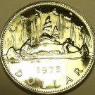 Proof Canada 1975 Canoe Dollar~See Our Huge Selection~97,263 Minted~Free Ship