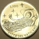 Rare Vatican 1969 F.A.O. 100 Lire~315,000 Minted~Angel In Flight~Free Shipping