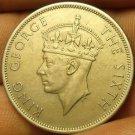 Southern Rhodesia 1951 Half Crown~Nice~Free Shipping