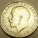 Au/Unc Silver Great Britain 1918 3-Pence~See All Our Silver Coins~Free Shipping