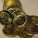 Gem Unc Roll (50) Cape Verde 1994 Escudo's~ Tartaruga Sea Turtle Coins~Free Ship