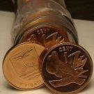 Gem Unc Roll (50 Coins) Kiribati 1992 Cents~Frigate Bird On a Branch~Super~Fr/Sh
