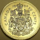 Gem Unc Canada 1994 50 Cents~Elizabeth II~Free Shipping