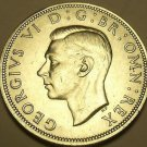 Gem Unc Silver Great Britain 1942 Half Crown~Excellent~Free Shipping