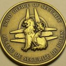 Nato Office Of Security Solid Bronze Gem Unc Medallion~Excellent~Free Shipping