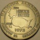 Gem Unc Boy Scouts National Scout Jamboree 1973 Medallion~Moraine~Farragut~Fr/Sh