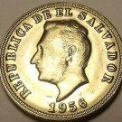 Gem Unc El Salvador 1956 5 Centavos~Francisco Morazan~Excellent~Free Shipping