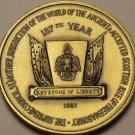 Huge 44.2mm Supreme Council 33 Mother Jurisdiction Freemason Medallion~Free Ship