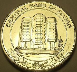 Gem Unc Bi-Metal South Sudan 2011 Pound~Central Bank Building~Free Shipping