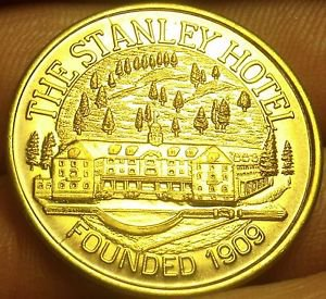The Stanley Hotel Estes Park Colorado~VIP KEY~ Medallion~Founded 1909~Free Ship
