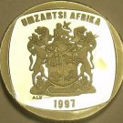 Rare Proof South Africa 1997 2 Rand~3,596 Minted~Greater Kudu~Free Shipping