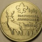 Gem Unc Boy Scouts National Jamboree 1964 Medallion~Farragut Park Idaho~Fr/Ship