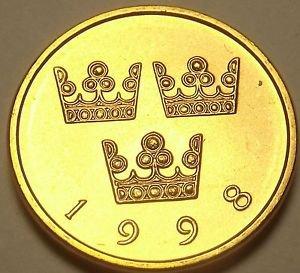Sweden 1998 50 Ore Unc