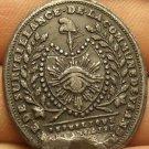 French Intellegence Surveillance Masonic Medal~World War 1