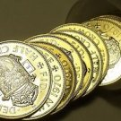 Incredible Roll (20) Huge Great Britain 1970 Proof Half Crown Coins~Free Ship