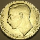 Luxembourg 100 Francs 1964 Silver Unc