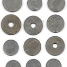 Lot Of 12 Middle Eastern and African Coins All Between 1909-1929 Free Shipping