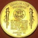 Gem Unc John F. Kennedy Presidential Bronze Inauguration Medallion~Free Shiping