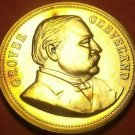 Gem Unc Grover Cleveland Presidential Bronze Inauguration Medallion~Free Ship