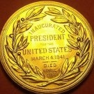 Gem Unc Willam H. Harrison Presidential Bronze Inauguration Medallion~Free Ship