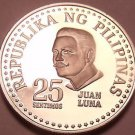 Rare Proof Philippines 1978 25 Sentimos~Only 4,872 Minted~Bank Seal~Free Ship