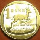 Rare Proof South Africa 1991 Rand~Springbok~10,000 Minted~Free Shipping