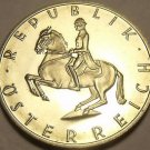 Proof Austria 1987 5 Schillings~Lippizaner Stallion~42,000 Minted~Free Shipping