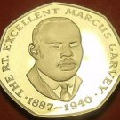 Extremely Rare Proof Jamaica 1993 25 Cents~500 Minted~Marcus Garvey~Free Ship