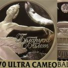 Belarus 2013 100 Roubles~RARE 750 Minted~NGC PF-70 Ultra Cameo~BALLET~5oz~WOW!!!