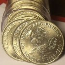 Unc Roll (20) Large Philippines 1989 Piso Coins~Philippine Cultures Decade~Fr/Sh