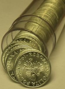 Gem Unc Roll (50) Poland 1949 Grosz Coins~Eagle With Wings Spread~Free Shipping