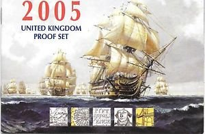 2005 Great Britain 12 Coin 8 Page C.O.A. Document Set~(No Coins)Free Shipping