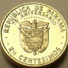 Panama 1978 2 1/2 Centesimos~Worlds Smallest Proof~75th Anniversary~Free Ship