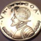 Rare Silver Proof Panama 1967 Balboa~20,000 Minted~Fantastic~Free Shipping