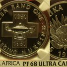 South Africa 1991 Rand NGC Proof 68 Ultra Cameo~Nursing 100 Years~Free Shipping