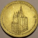 34mm Gem Unc Sainte Chapelle Medallion~The Home of the Kings of France~Free Ship