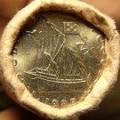 Gem Unc Original Roll (40) Portugal 1985 5 Escudos Coins~Ship~Free Shipping