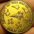 Florida Air National Guard 125th Fighters Wing~Aircraft Past & Present~Medallion