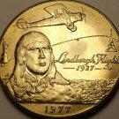 Samoa 1977 Tala Unc~17,000 Minted~Lindbergh New York To Paris Flight~Free Ship