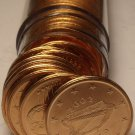 Gem Unc Roll (50) Ireland 2002 2 Euro Cents~Irish Harp~Free Shipping