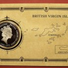 Commemorative British Virgin Islands 1992 Dollar Proof~Columbus First Voyage~F/S